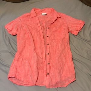 Columbia women's button-up